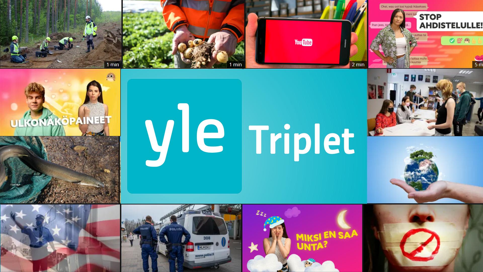 Yle Triplet starttaa 16.8. - löydä uutiset oppitunneillesi entistä helpommin