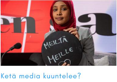 Keitä media kuuntelee?
